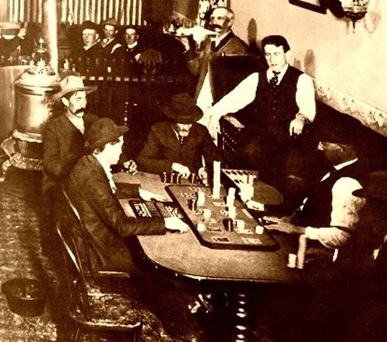 saloons gambling