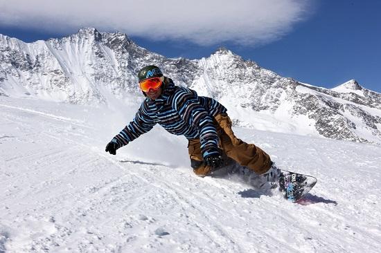 Sporturi de iarna pe partie