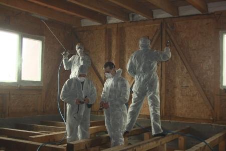 Protectie impotriva focului si a daunatorilor prin lucrari de ignifugare sarpanta