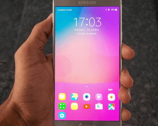 Eficienta in inlocuirea unui display Samsung