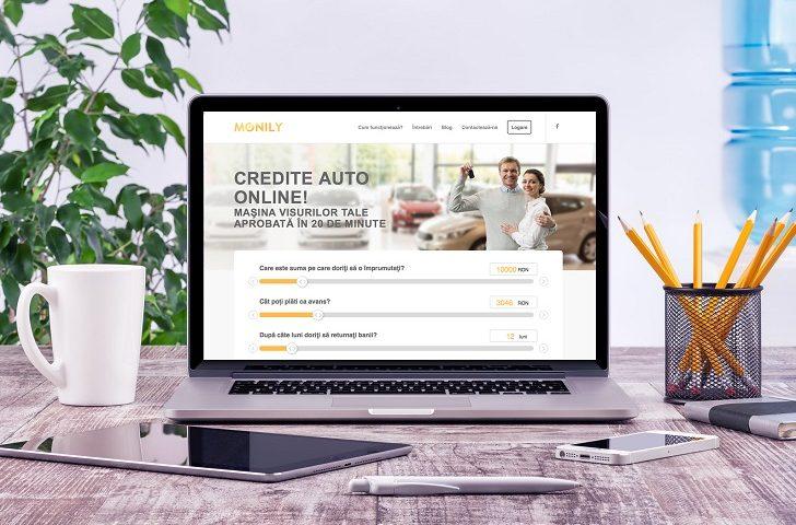 Simplu, rapid şi avantajos – creditul auto online de până la 53,000 Ron numai cu Monily România!