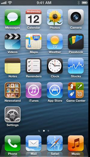 Ceva din iPhone 5